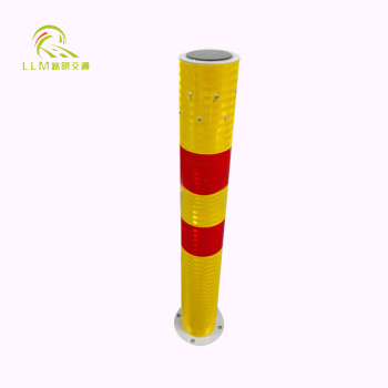Solar LED delineator post road delineators/solar road warning post
