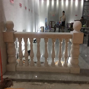 Pearl white granite baluster price for interior and exterior construction