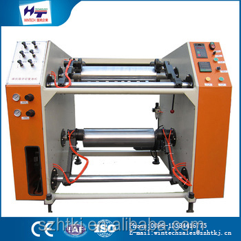 small machines Continued hot HT-500 rolling stretch film slitting and rewinding machinery