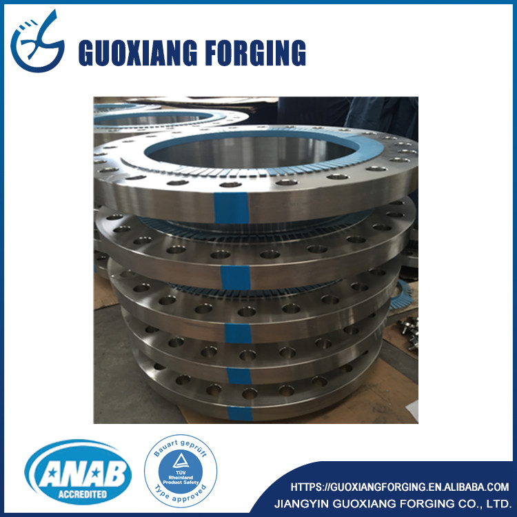 jiangyin high quality colour coading class 300 to class1500# welding neck flanges