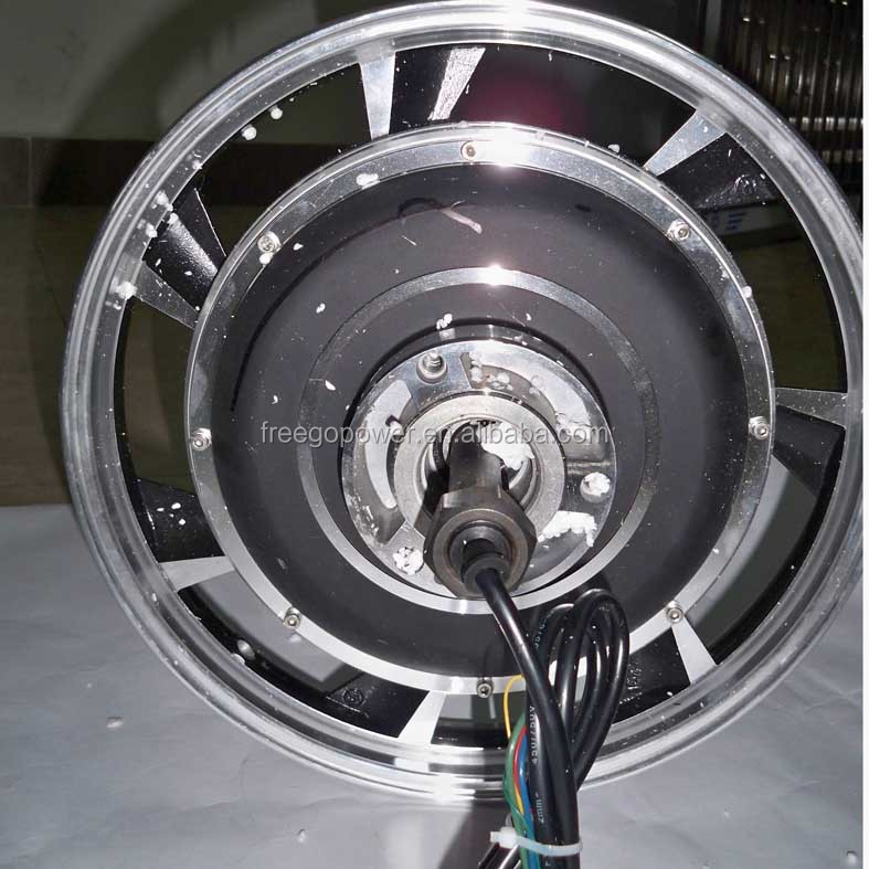 48V 1000W single shaft electric wheel hub motor