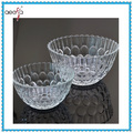 Machine Made Dinnerware Cheap clear glass decorative antique glass fruit bowls