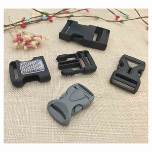 Directly sale 50mm nylon webbing plastic buckle