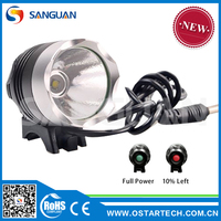 SANGUAN SG-B1000 factory direct Single Cree XM-L T6 LED 1000Lm light bike game