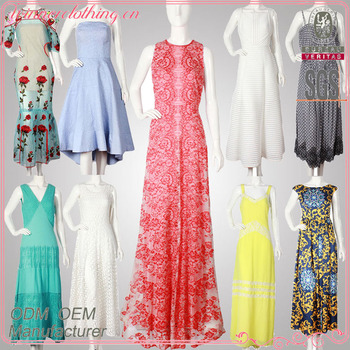 High Quality Frocks Design 2017 Fashion Summer Party Sexy Maxi Women Dress With Cheap Price