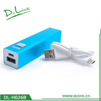 pocket charger for mobile phone universal power bank 1500mah