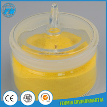 30% yellow powder pac poly aluminium chloride drinking water treatment chemicals