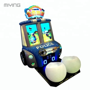Promotion baby swat kids racing arcade games car race game machine