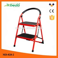 Household safety multi-purpose wide step folding mobile scaffolds (MD-828-2)
