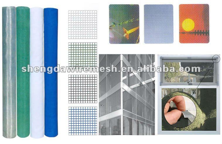 Direct factory Aluminum mosquito window screen/wire netting
