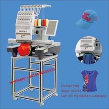 Domestic embroidery sewing machine for cap,t-shirt,flat embroidery