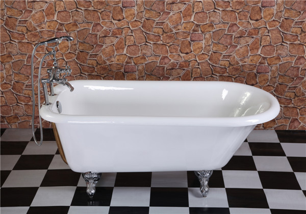 Cheap cast iron bathtub , small freestaning baby bath tub