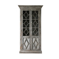 wholesale distressed furniture rustic reclaimed wood furniture display glass cabinet