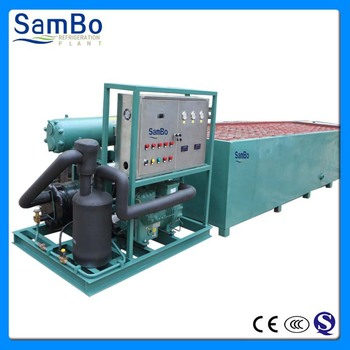 CE Certificate fishery and storage 10T per day industrial block ice making machine