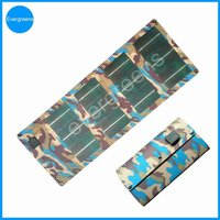 2015 Hot sale 10W flexible and folding CIGS portable solar charger for samsung mobile phone