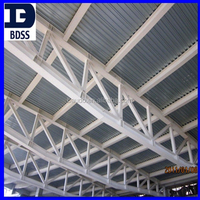 painted steel structure truss beam