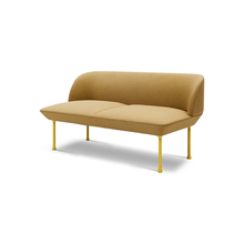Classic European Chaise Lounge Sofa With Metal For Living Room Two Seater