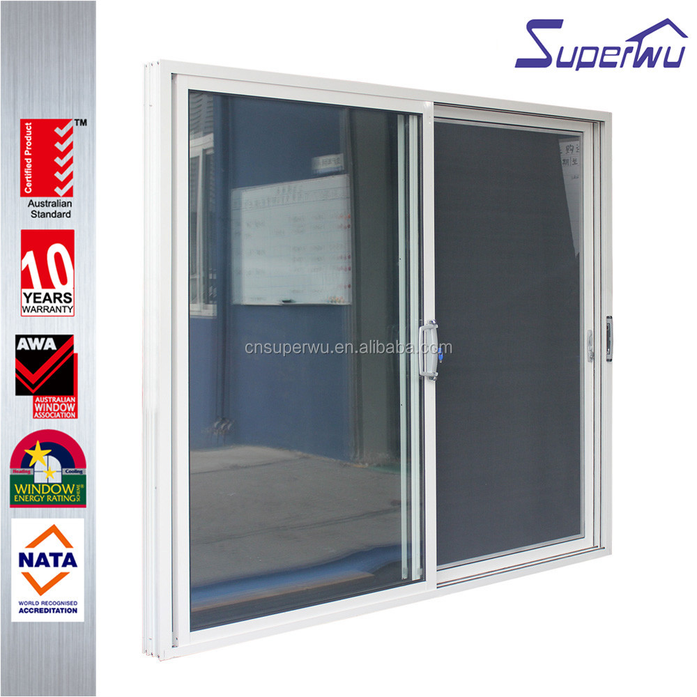 Hot and safety aluminum double sliding door