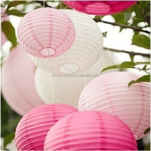 "8"" Round Custom Printed Party Paper Lantern/Chinese Hanging Paper Lantern for Party"