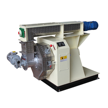 China factory price fast Delivery log wood sawdust pellet making machine Output 100-200kg/h RING DIE PELLET MACHINE