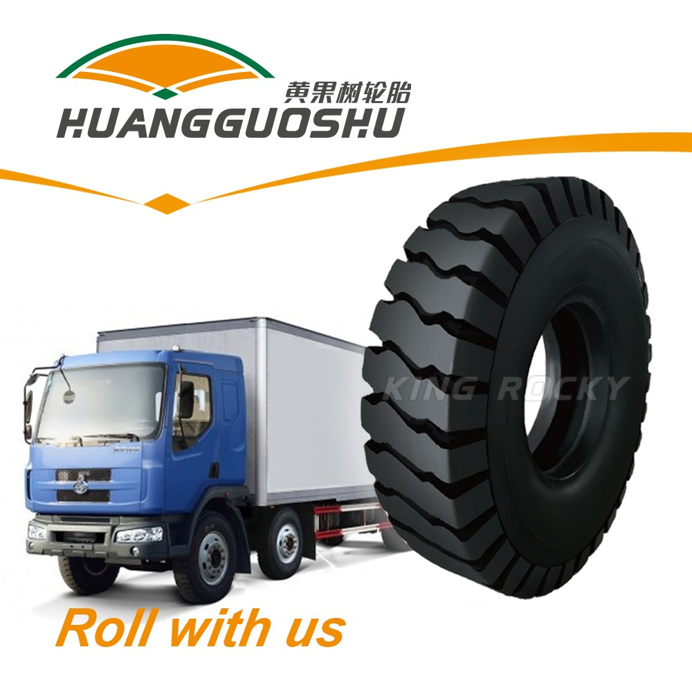 Huangguoshu 10.00-20 truck tires for wheel excavator used