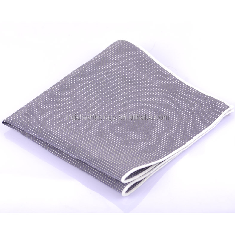 2015 new design silk pocket square