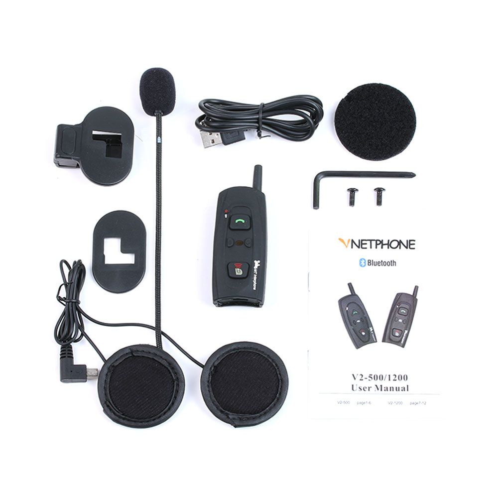 EJEAS Brand V2 Motorcycle Helmet Communication Bt Intercom
