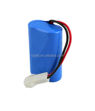 7.4v li-ion battery pack li ion battery 8650 7.4v 2000mah Li-ion Battery for handheld device