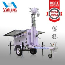 2014 New Generation Solar Powered CCTV Security Camera System Trailer