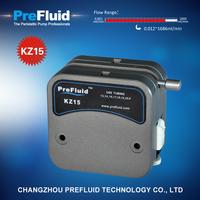 Prefluid KZ15 Dispensing Pump head, dosing pump setup