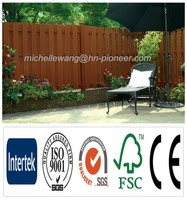 Easy install top quality Europe Popular garden fence panels, decorative garden fence panels,cheap wood fence