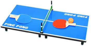 Genial Best Sell Tabletop Pingpong Mini Table Tennis Game For Entertainment