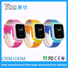 0.96 inch sos geofenc anti lost take off alarm kids gps smart watch and phone