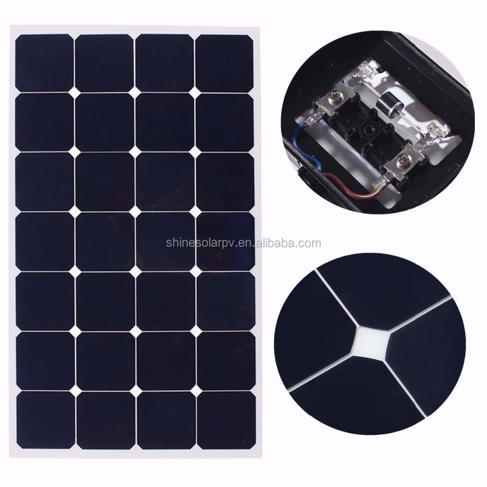 High Efficiency Thin Film Flexible Solar Panel for RV