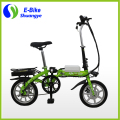14'' magnesium integrated wheel 36v 250W motor folding mini ebike