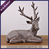 Custom made home decoration small polyresin resin deer figurines