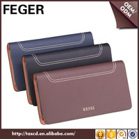 wholesale plain clutch bag for man genuine leather organiser clutch wallet