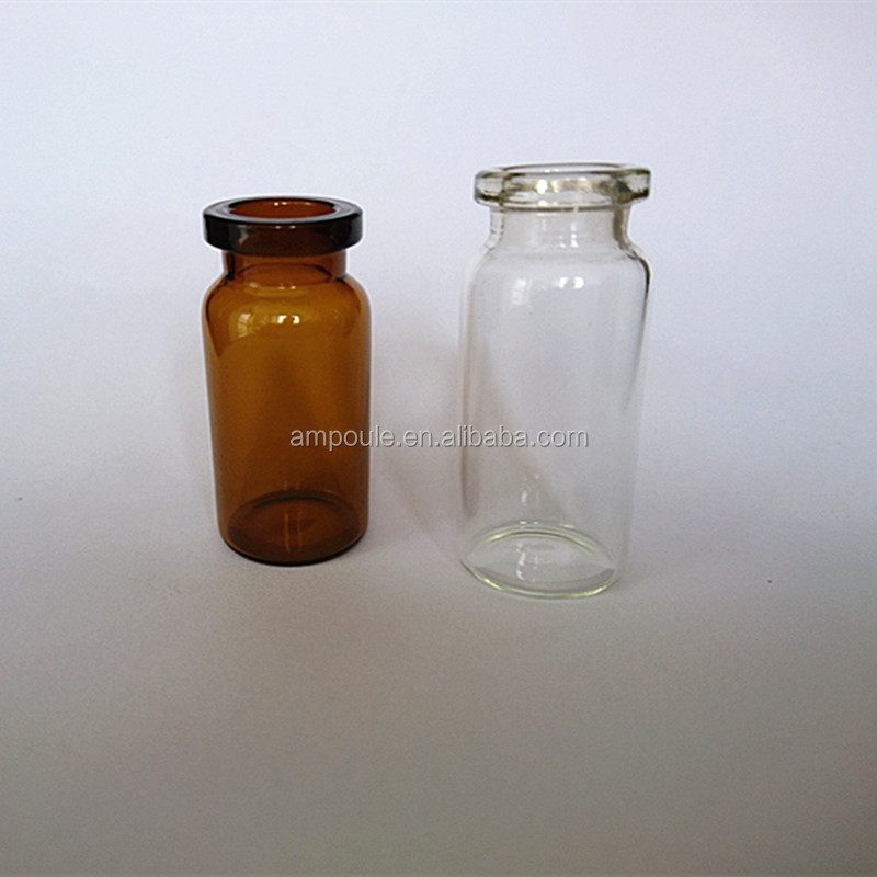 Customized tubular glass vial steroids vials glass vials for steroids