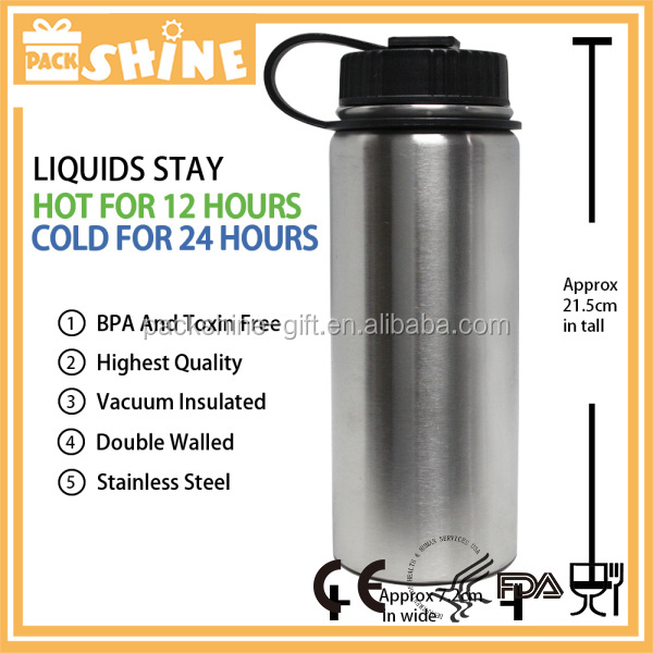 Sublimation Insulated Stainless Steel Water Bottle 500ML