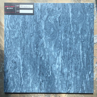 Artist design 300x300mm competive price of blue bathroom floor tiles in Foshan, China