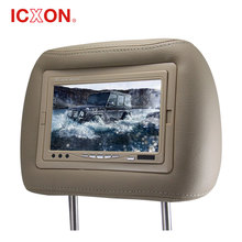 7 inch Car Headrest monitor with pillow