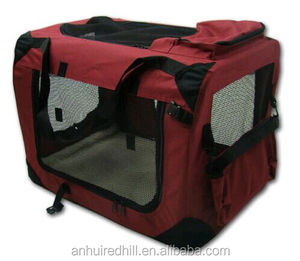 Soft-Sided Medium Folding Pet Travel Carrier Pet Crate