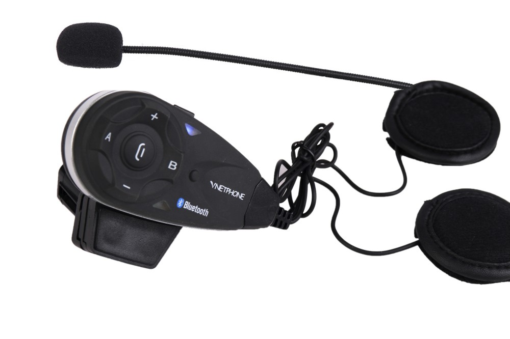 New arrival Promotion Original 2 Way Audio Interphone Headset With FM Radio BT Motorcycle