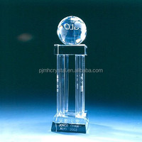 fashion crystal glass trophy memento MH-JB077