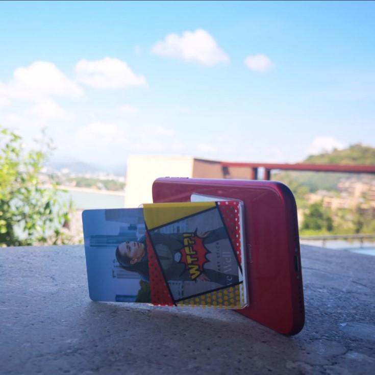 Brand New WTF Credit Card Bag Pocket Mobile Phone Holder - ANKUX Tech Co., Ltd