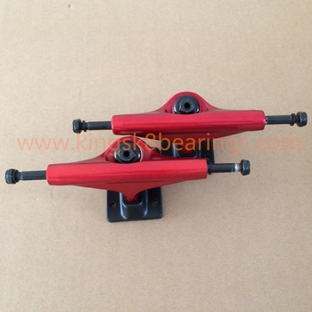 Magnesium Alloy High strength trucks, New Red Kingsk8 Skateboard Trucks
