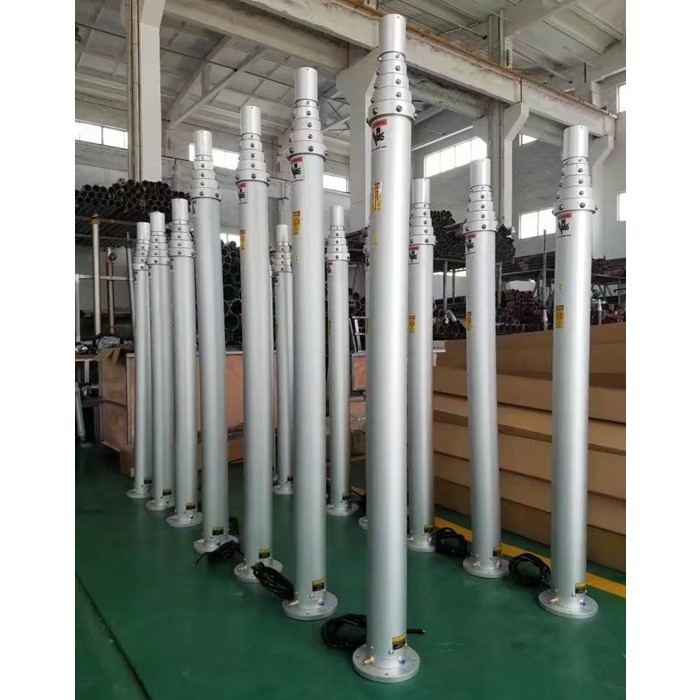 6m vehicle mounted Aluminum Pneumatic 足球投注网 for CCTV camera