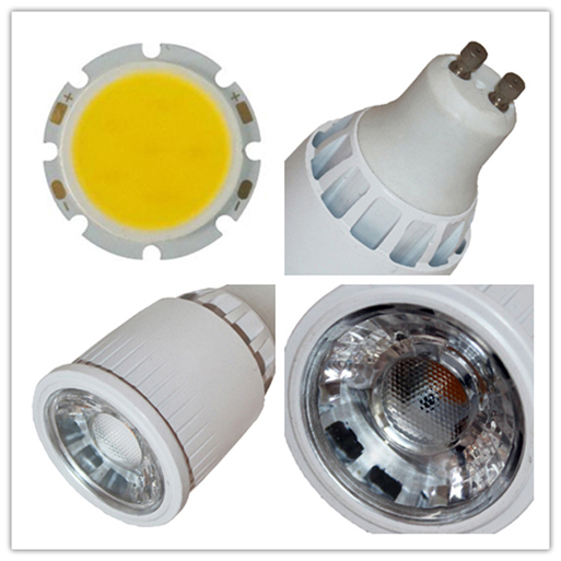 CRI80 3000K warm white GU10 7W 425lm replace 50w halogen lamp led spotlight