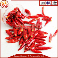 China Hot chilli spices bright dried red chilli without stem