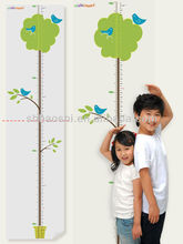 Wall Deco for kids. OEM product. self-cling,wall paper, Kid's height chart
